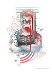 Cybernetic Red Joker