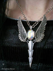 Necklace collier by Lady Decadenza by midnightbreath