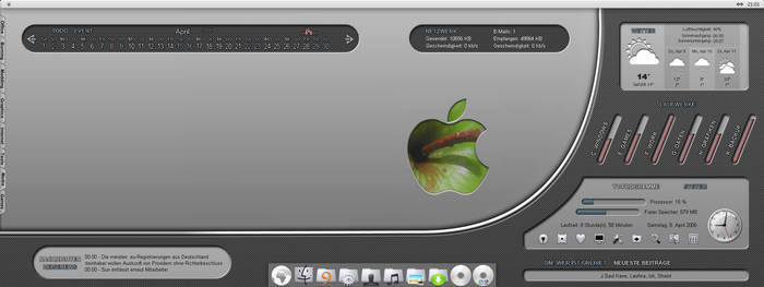Apple Carbon finished