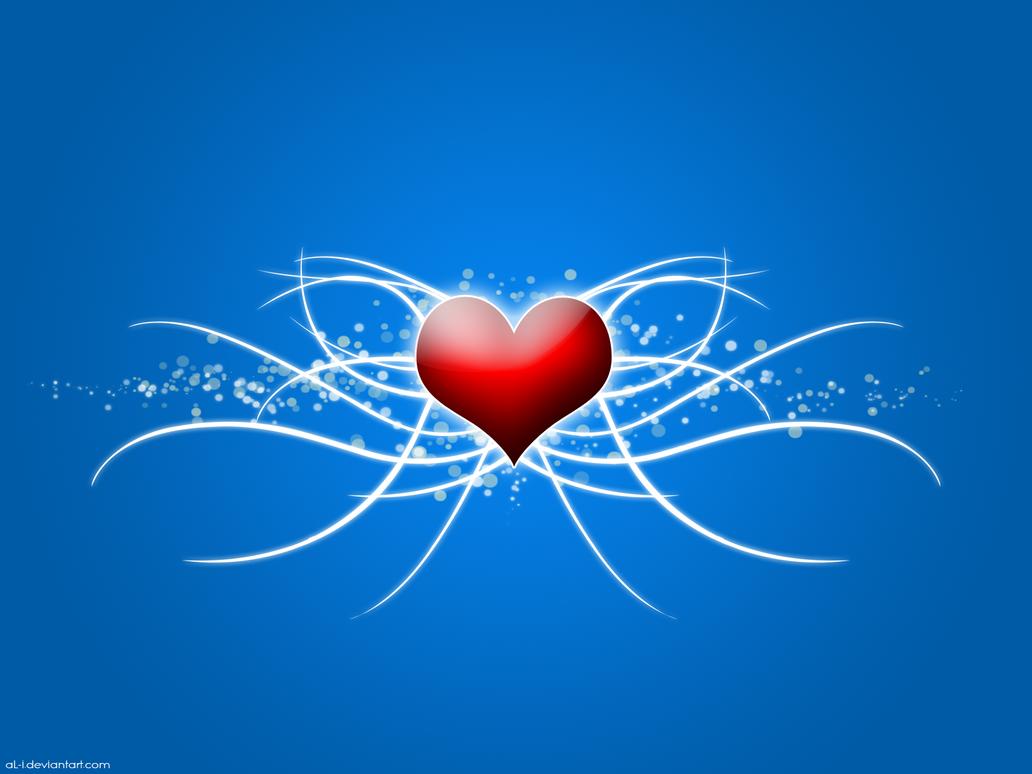 Swirly Heart by aL-i