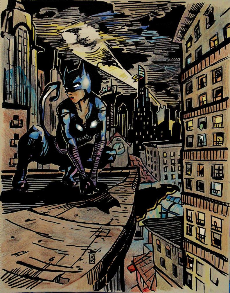Catwoman by KristinaKostova