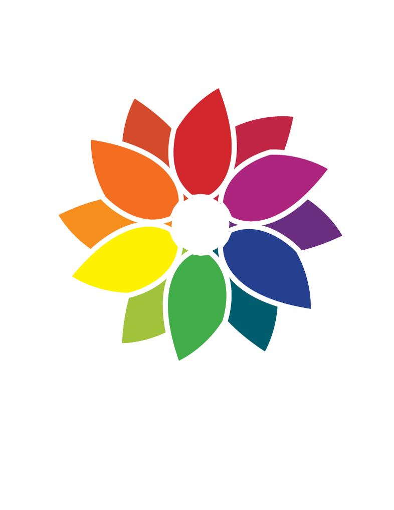 Flower Color Wheel By LokiFan360