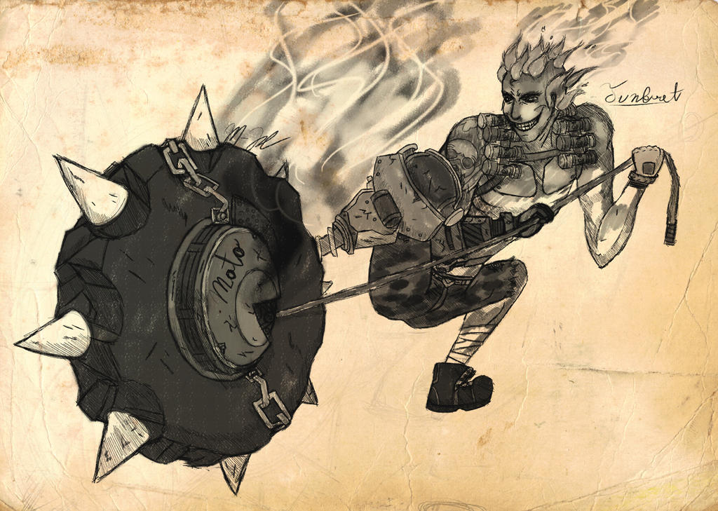 Overwatch - Junkrat [Speed Draw] by LokiFan360