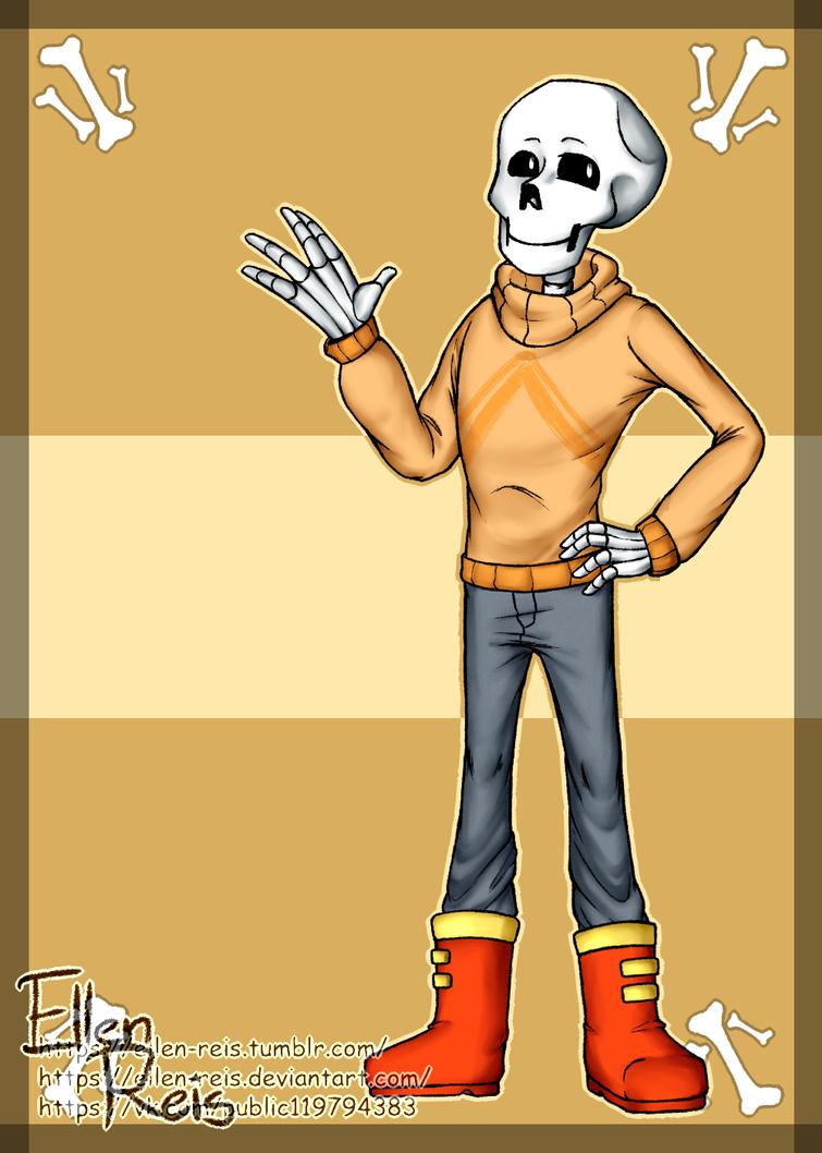 UT!Papyrus-2 by Ellen-Reis