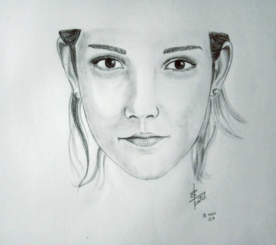 Emma watson pencil sketch by shishupalpatel on deviantart
