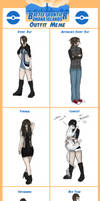 BFOI Y2: Cat Outfits!