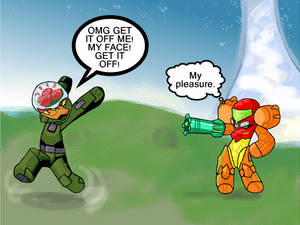 No so tough now, Master Chief.