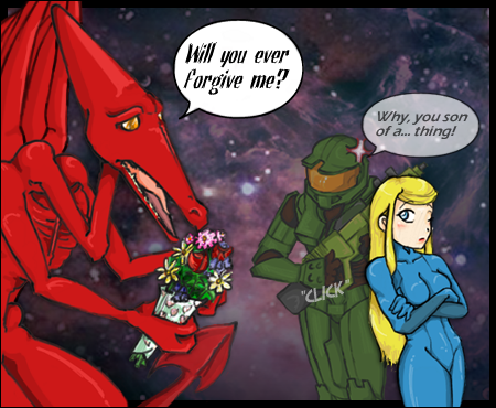 Please Samus? by Samus-Aran