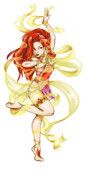 Din the dancing goddess