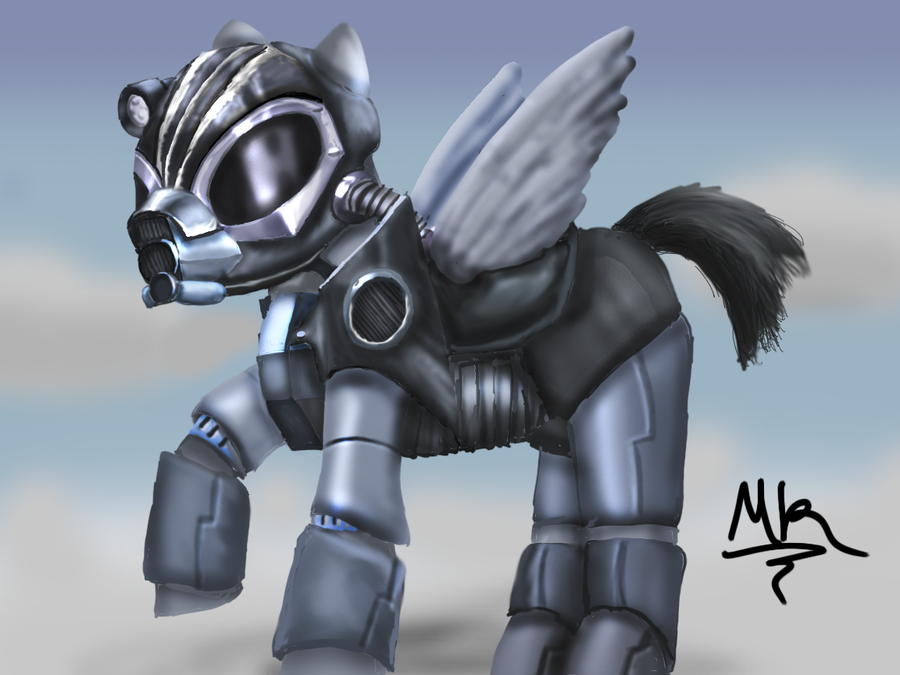 Grand Pegasus Enclave Pony by turbopower1000