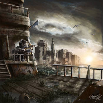 Floating from a sunken city by turbopower1000