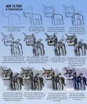How to draw a  pony.