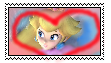 Love princess peach stamp by mystic-kittyy