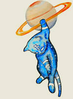 Saturn cat by catseye2790