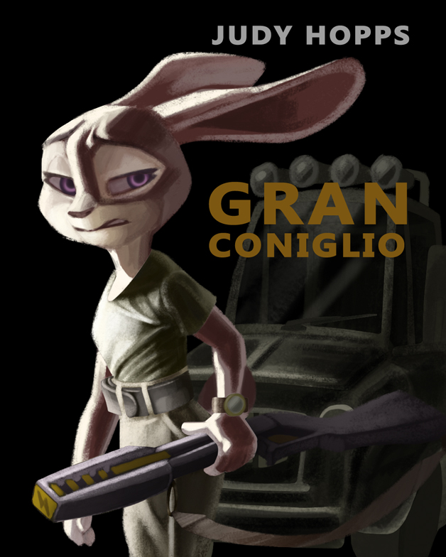 Gran Coniglio by ZootopiaStories