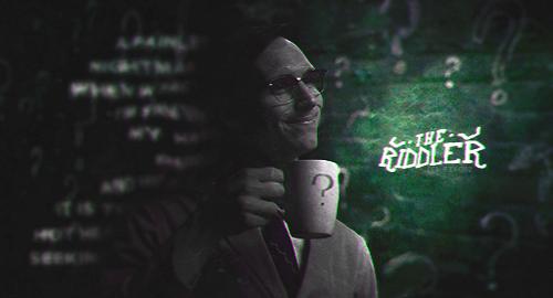 The Riddler [BW] by ffitchz