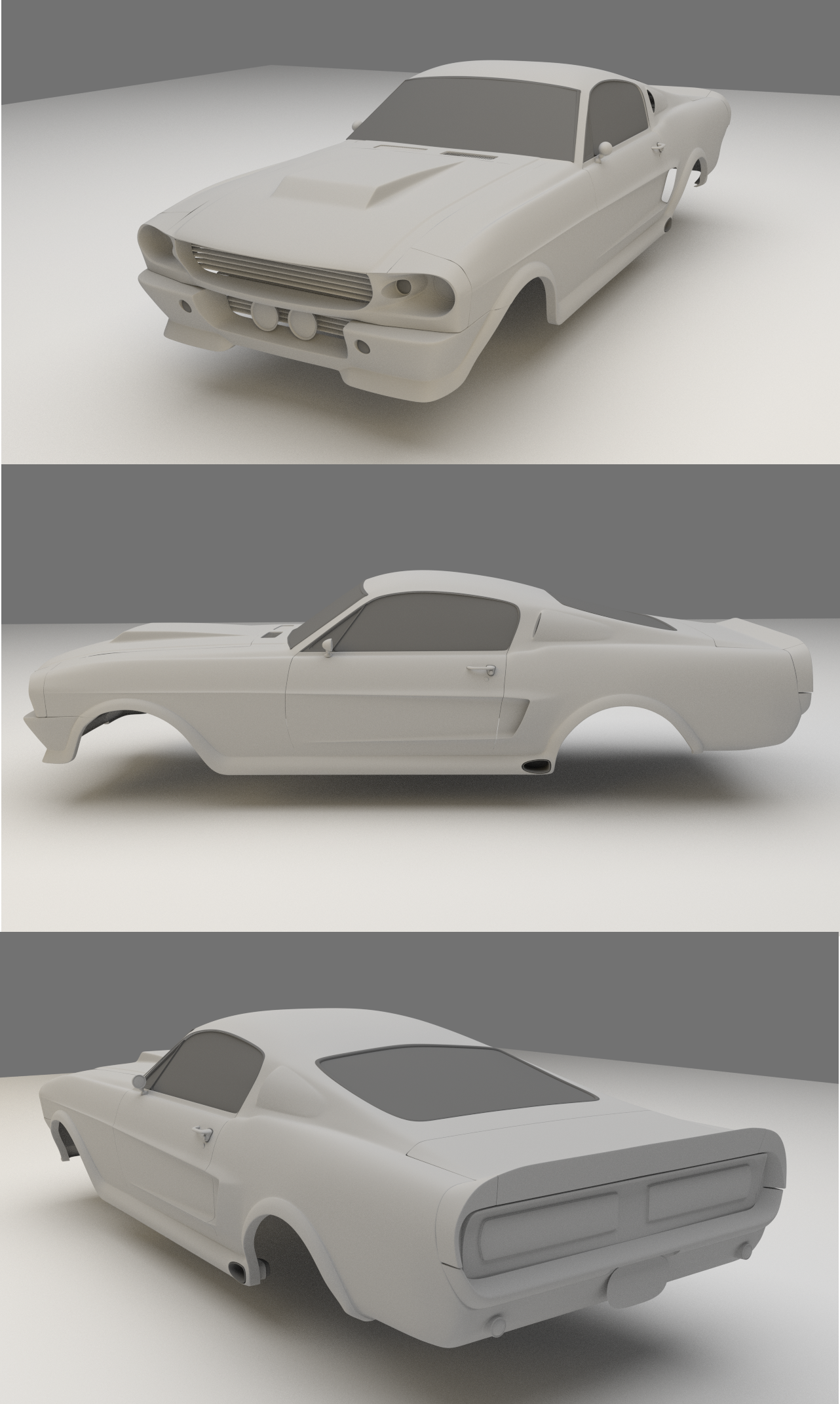 Eleanor GT500 WIP 1 by ChukChuk92