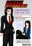 Demon Hunters Chapter 1 page 0 by darthmanga