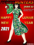 Happy Lunar New Year 2021 from Demon Hunters by dhmanga186