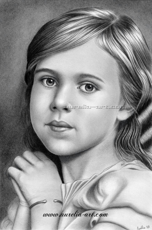 Child Portrait 01 by aurelia-acc