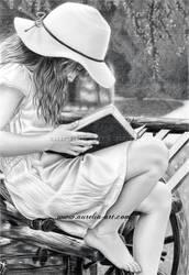 Summer Reading by aurelia-acc
