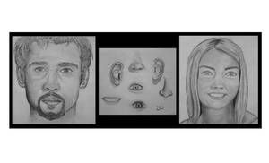 Face Sketches by JordanP23