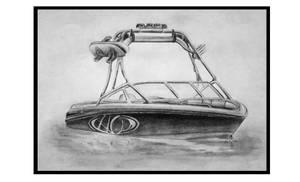 Boat Sketch by JordanP23