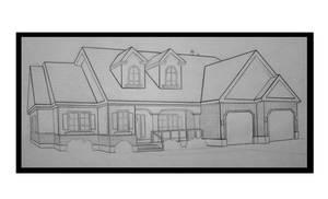 House Drawing by JordanP23