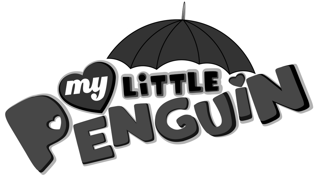 My Little Penguin Logo by SayurixSama