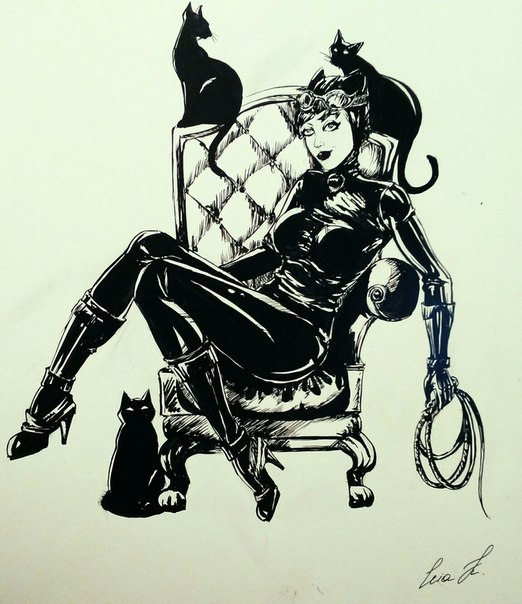 Catwoman by MomentsOfBloom