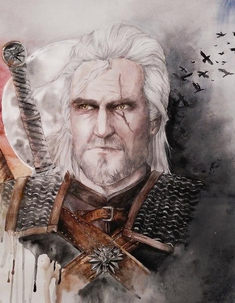 Geralt of Rivia by MomentsOfBloom