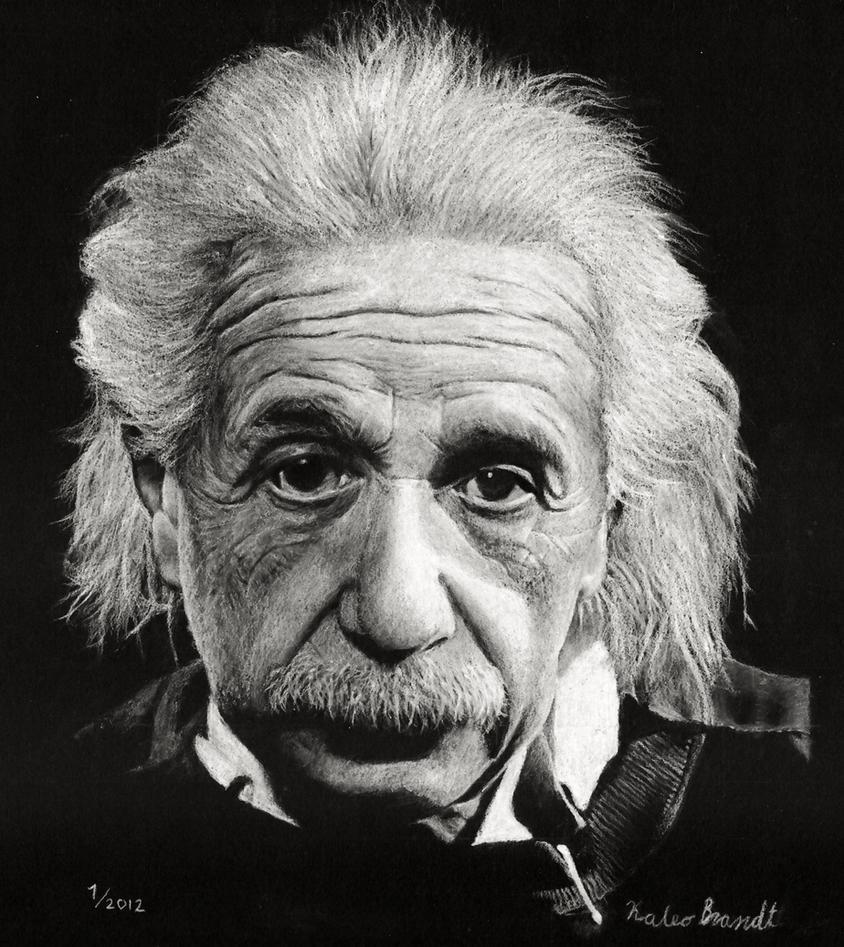 Einstein Portrait By Kaleo-B On DeviantArt
