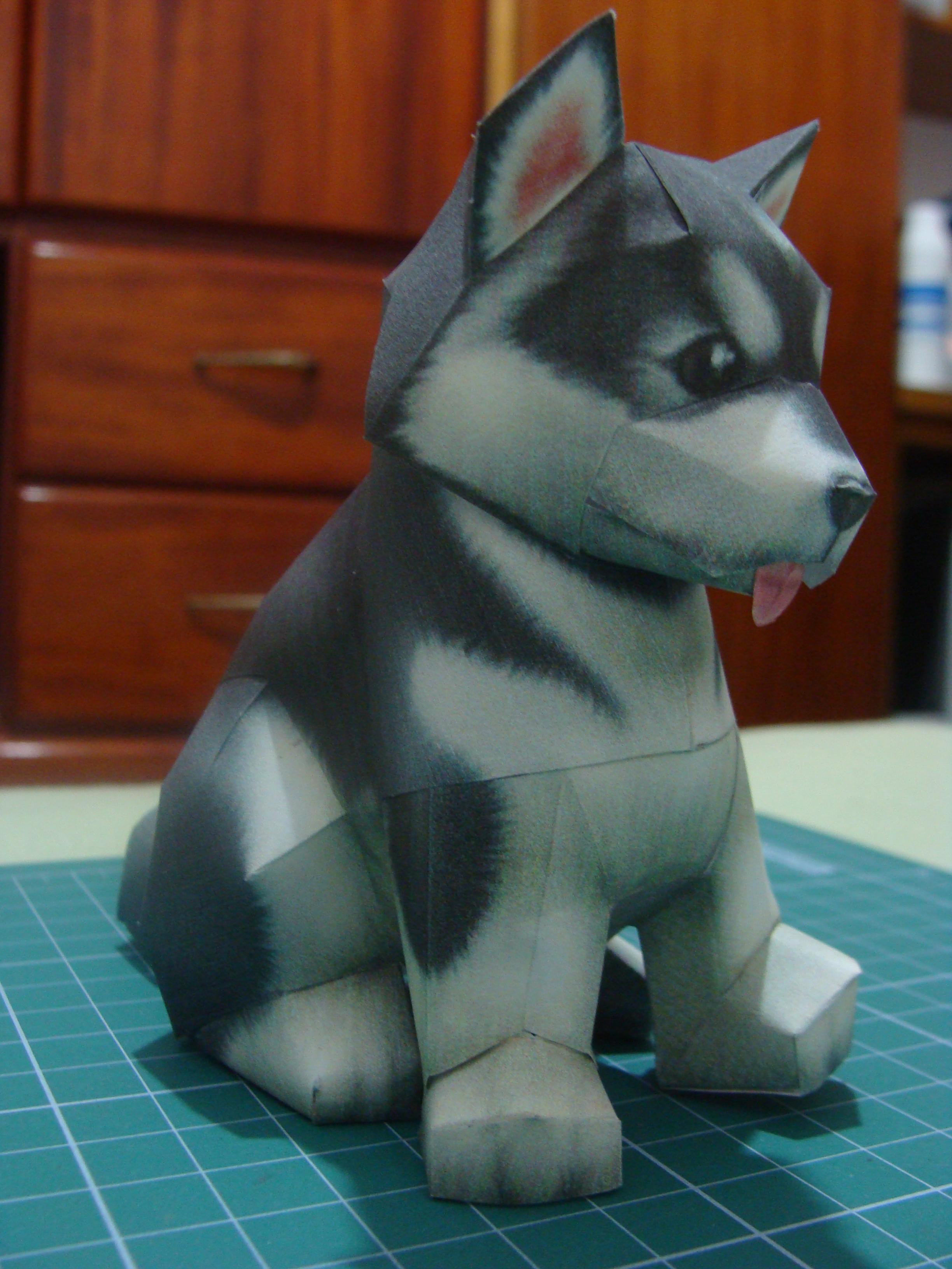 Husky Puppy Papercraft By Bslirabsl On Deviantart