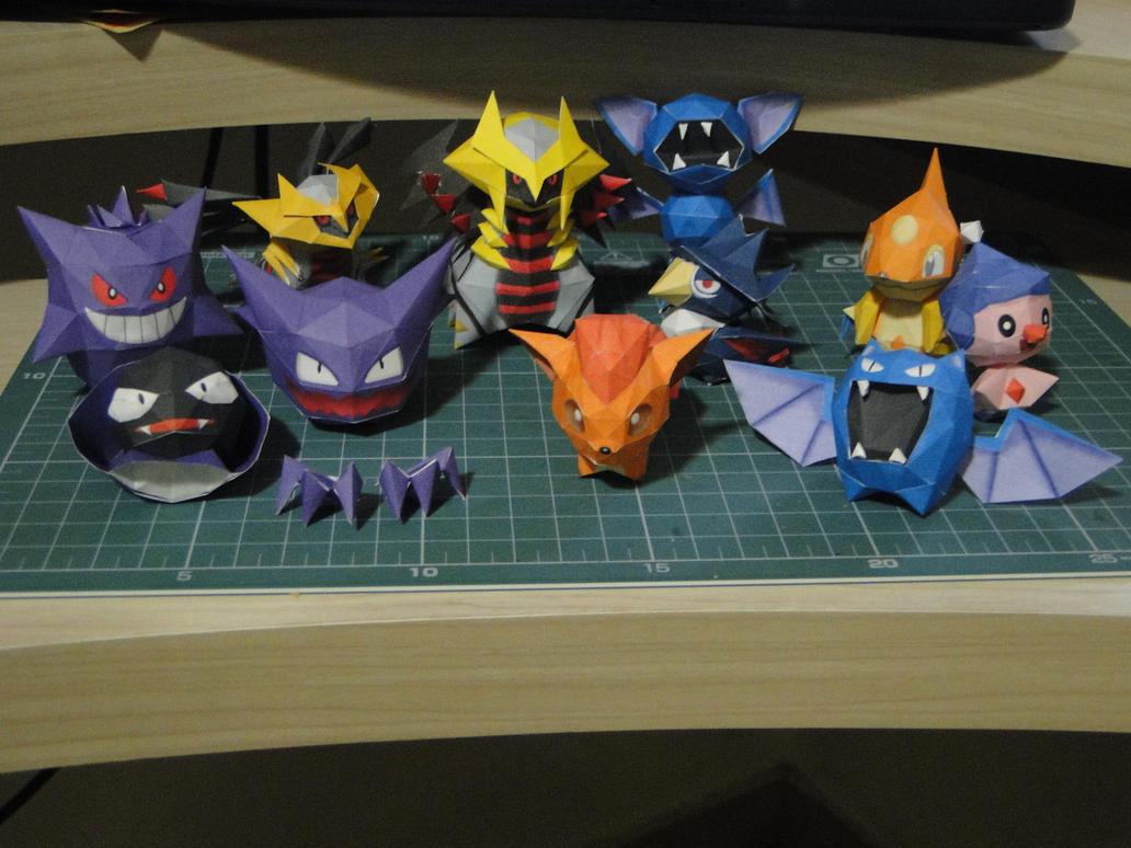 Chibi pokemons by bslirabsl