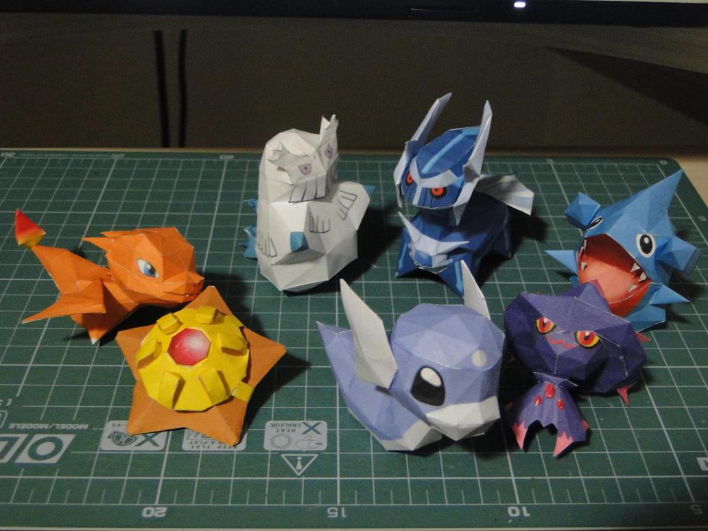 Chibi Pokemon II by bslirabsl