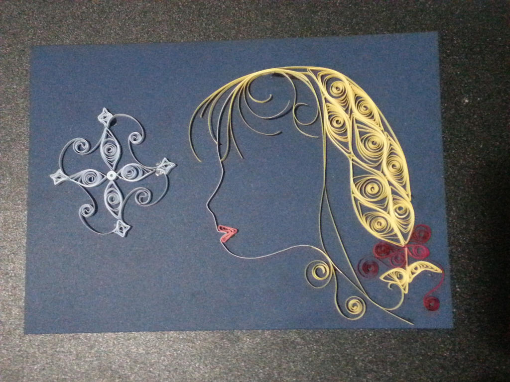 Just a random quilling by bslirabsl