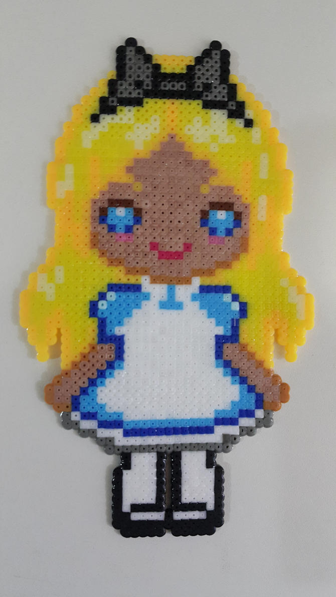 Alice with beads by bslirabsl
