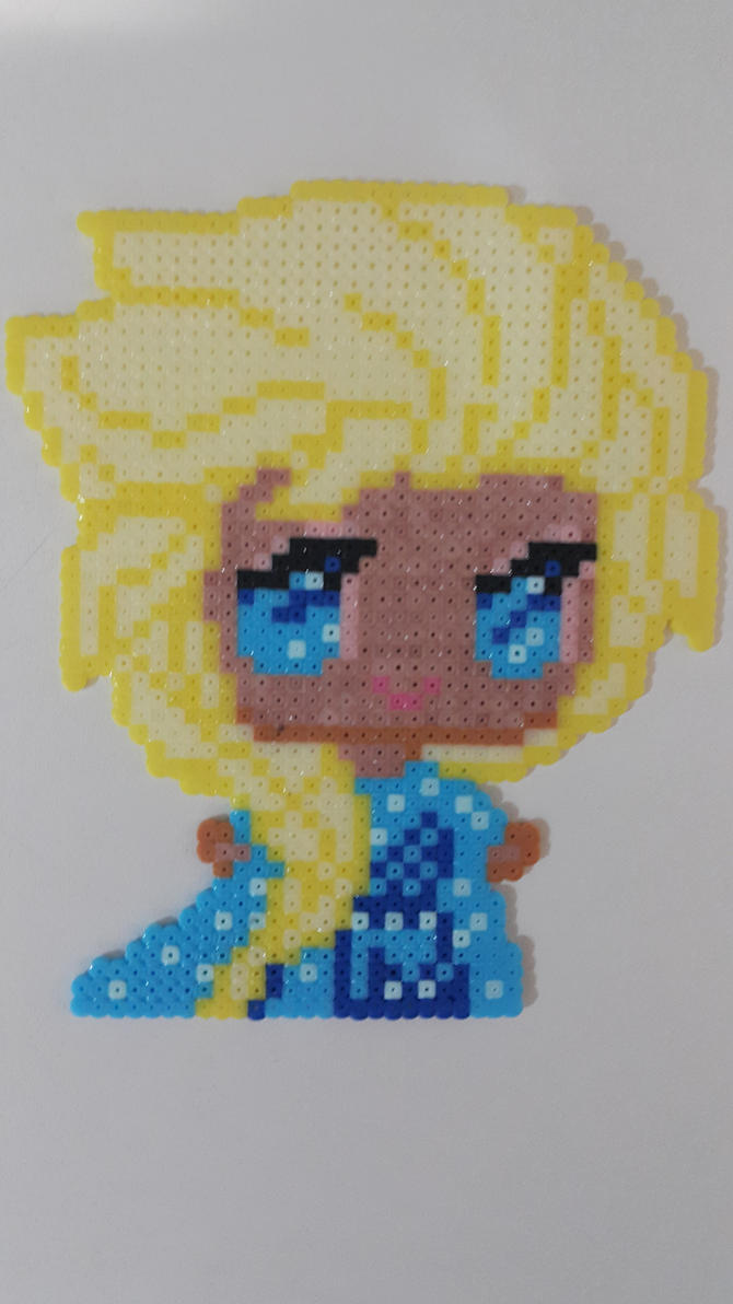 Elsa with beads by bslirabsl