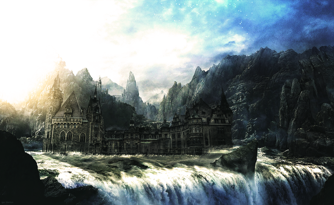 castle_waterfall_photomanipulation_by_ac