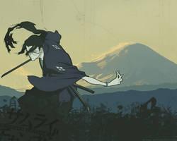 Jin at Fuji