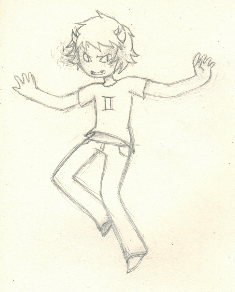 Sollux Sketch by CodeAwesome