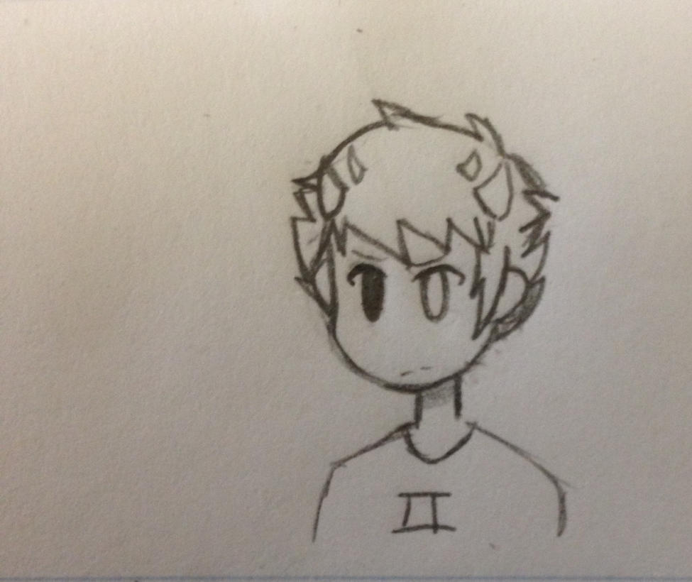 Sollux Headshot by CodeAwesome