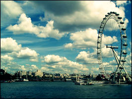 london eye by herbstkind