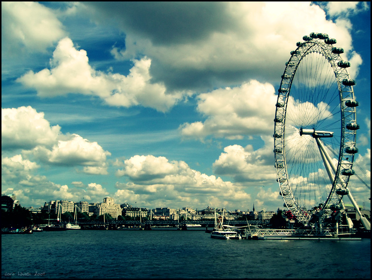 london eye by herbstkind
