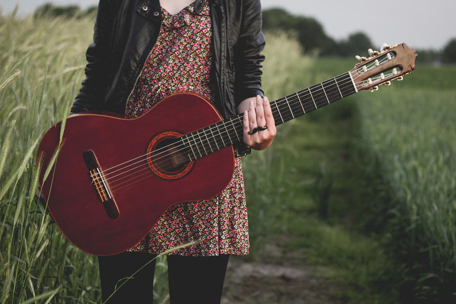 Go Back > Gallery For > Girl Guitar Tumblr Photography