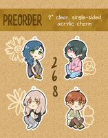 PREORDER: aPartment 268 acrylic charms
