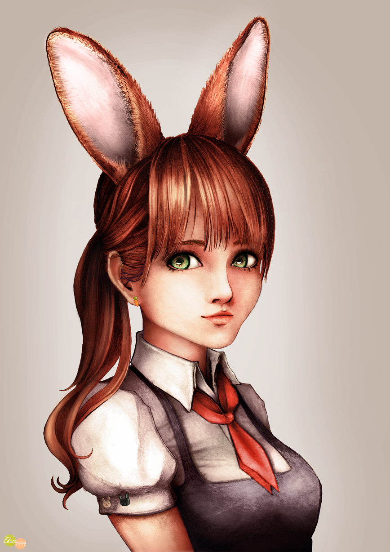 Maid Bunny Girl by Edusu1994