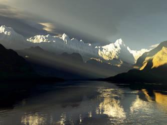 Alpine in Autumn by whitedragon