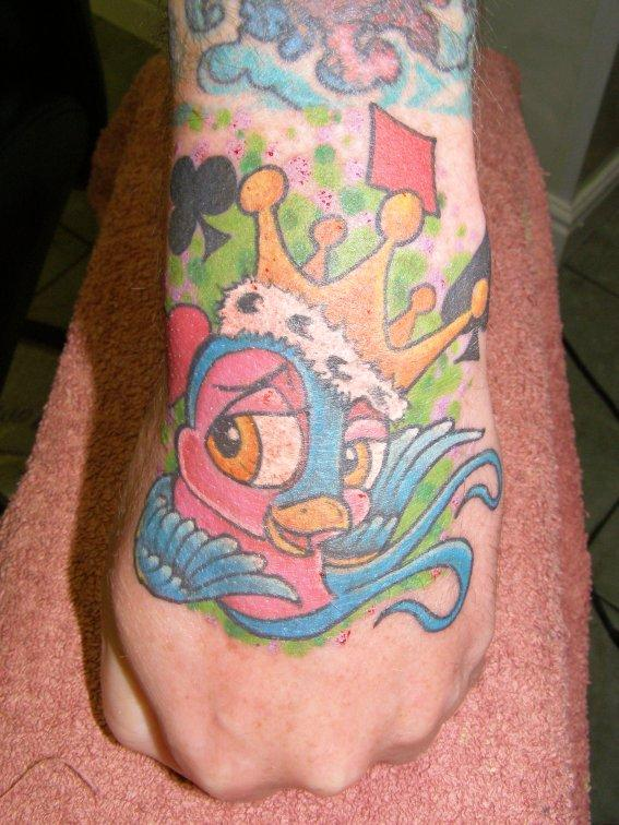 Swallow hand tattoo by inkcastle on deviantart for Swallow hand tattoo