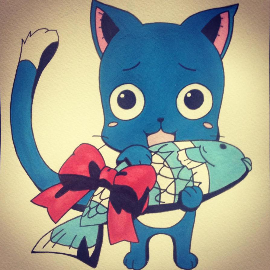 [HAPPY] - Fairy Tail by jorderhuh on DeviantArt  Happy Fairy Tail Cute